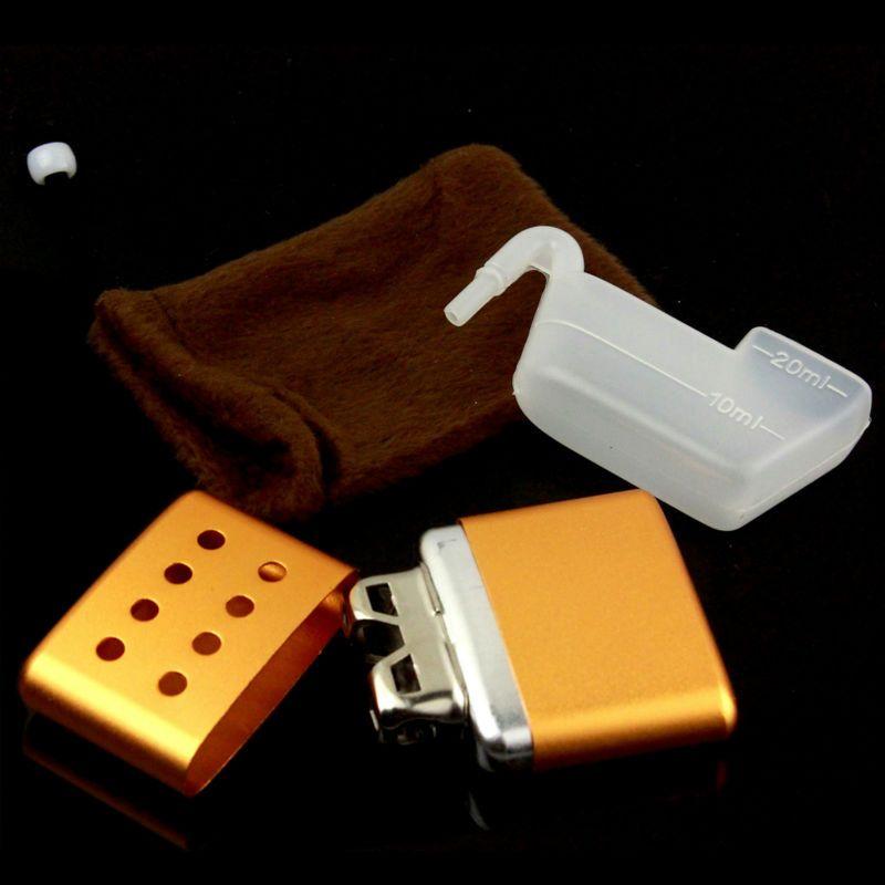 Firedog открытый лидер продаж; новинка моды небольшой Портативный многоразовых металлическими Алюминий карман руки теплые перчатки разноцвет...