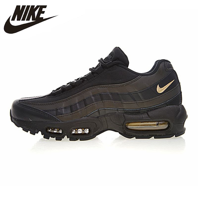 NIKE AIR MAX 95 PREMIUM Men's Running Shoes Outdoor Sneakers Shoes Breathable Non-slip Heightened 924478-003