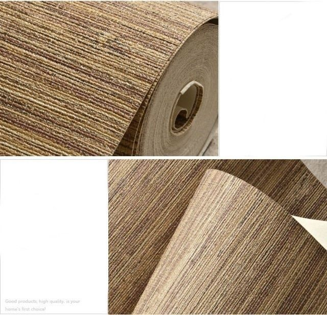 Modern Straw Wallpapers Waterproof PVC Wall Paper Roll Living Room Wallpaper for Walls Vinyl Contact Wallpaper papel parede