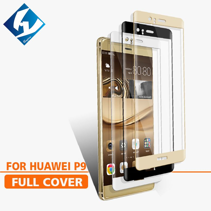 2PCS/LOT 3D Curved For Huawei P9 Full coverage Screen Protector Tempered glass Film Protective For EVA-AL00 Mate 9 Pro 5.5