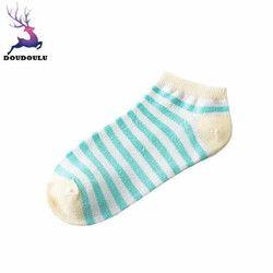 Doudoulu женские хлопковые носки высококачественные укороченные носки женские полосатые носки зимние теплые Calcetines rayados femeninos # QYW