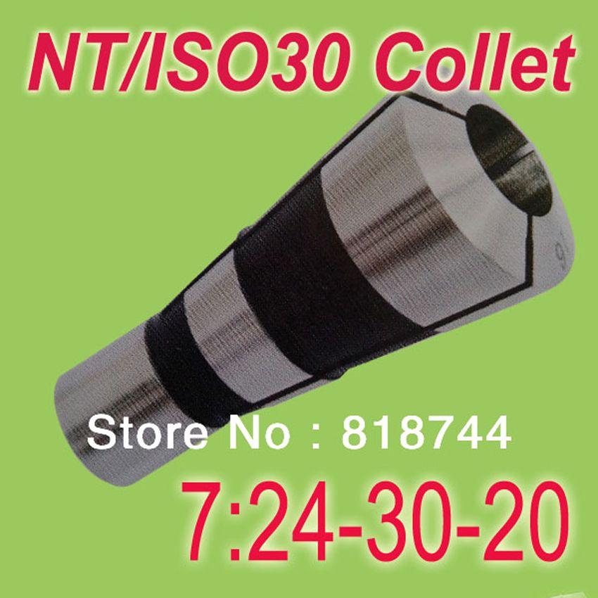 Freies Verschiffen 5 STÜCKE NT30/ISO30 7:24-30 Spannzange Metric Größe Jede Größe von 3 bis 20 Anzug für Spannzangenhalter