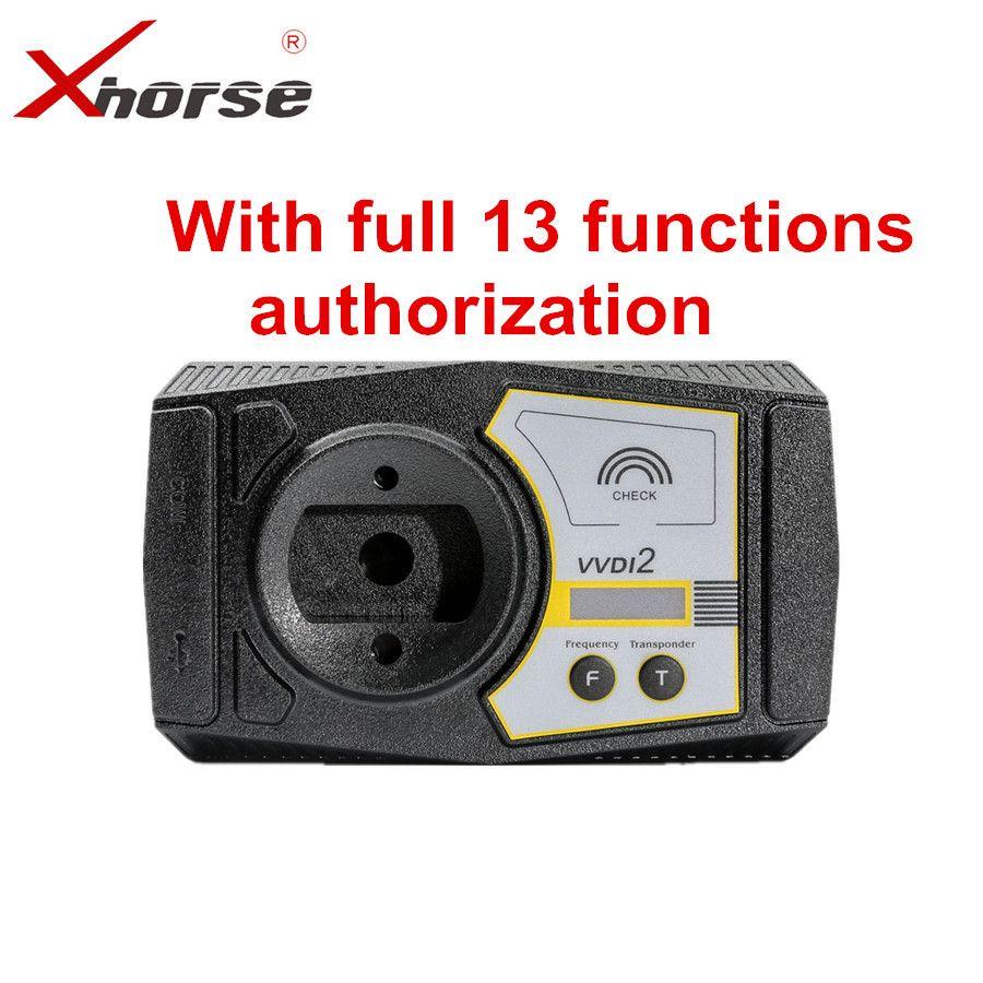 Xhorse VVDI2 Volle Version V6.1.1 Für V-W/Audi/BMW/Porsche/PSA Plus Für BMW FEM BDC ID48 96bit ID48 OBDII MQB Alle Genehmigung