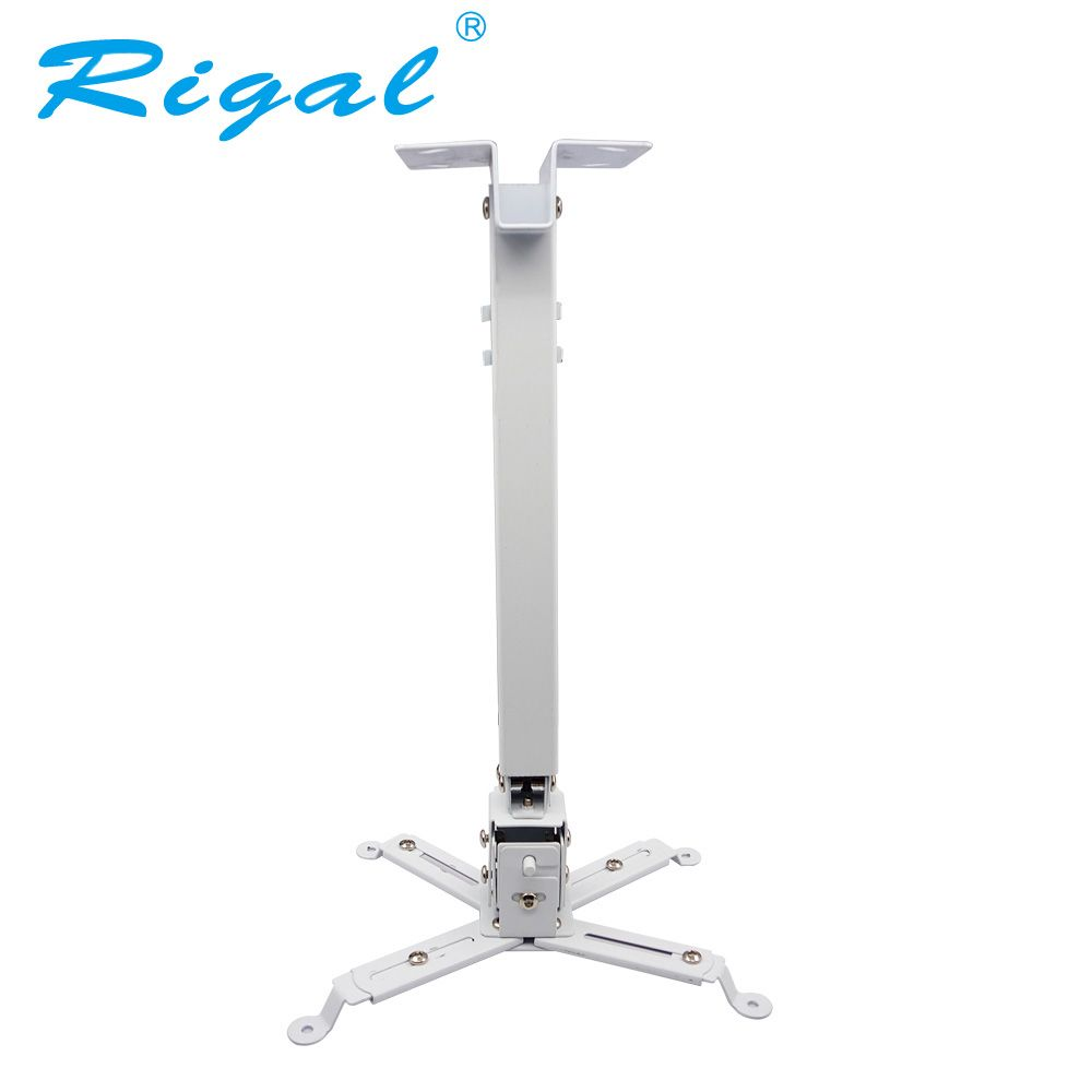 Rigal Universal Adjustable Projector Ceiling Mount Loading 15KG Roof Projector Bracket Holder For LED Projector Proyector RD817