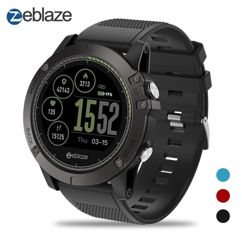 New Zeblaze VIBE 3 HR Smartwatch IP67 Waterproof Wearable Device Heart Rate Monitor IPS Color Display Sport Smart Watch