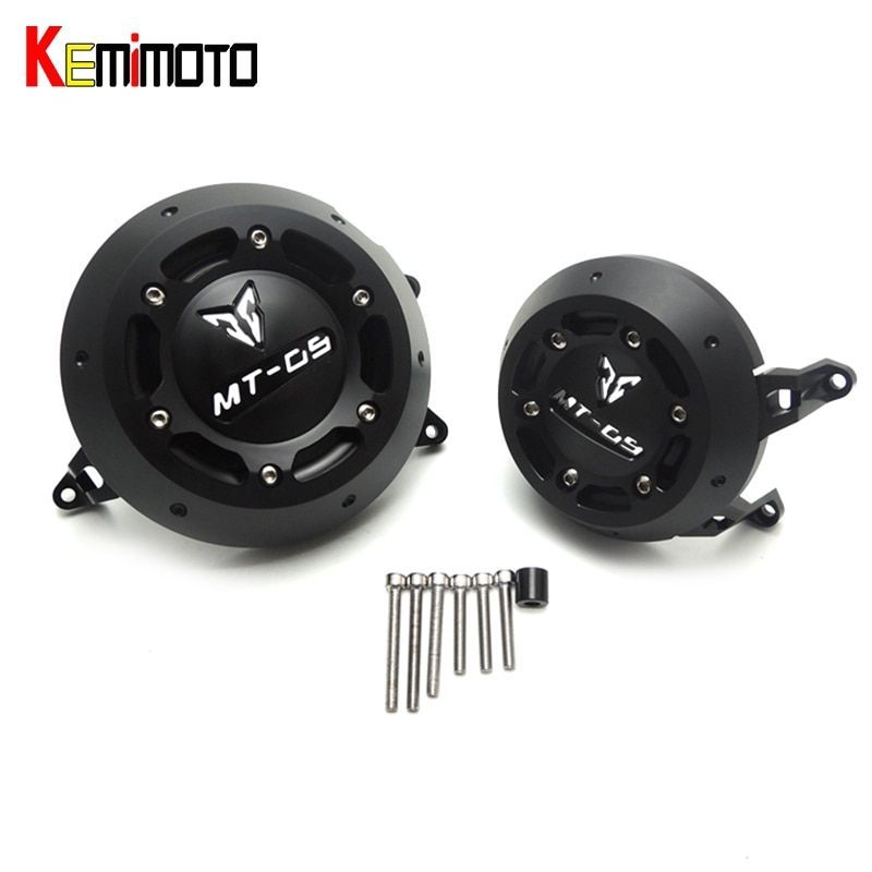 KEMiMOTO 2017 NEW MT-09 MT 09 MT09 tracer For YAMAHA MT-09 Engine Guard Case Slider Cover Protector Set 2013-2017
