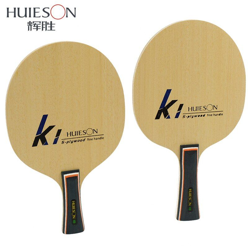 Huieson Fine Handle Table Tennis Training Blade Ultralight 5 Ply Basswood Ping Pong Paddle Blade 70+-5g Table Tennis Accessories