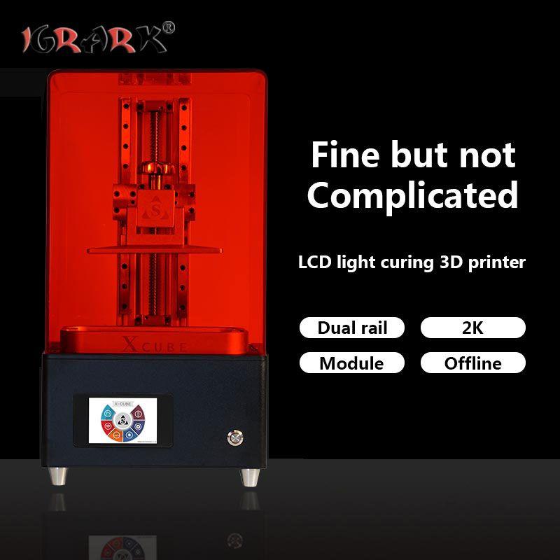 IGRARK LCD licht härtende 3D drucker SLA/DLP lichtempfindliche harz schmuck hand modell drucker