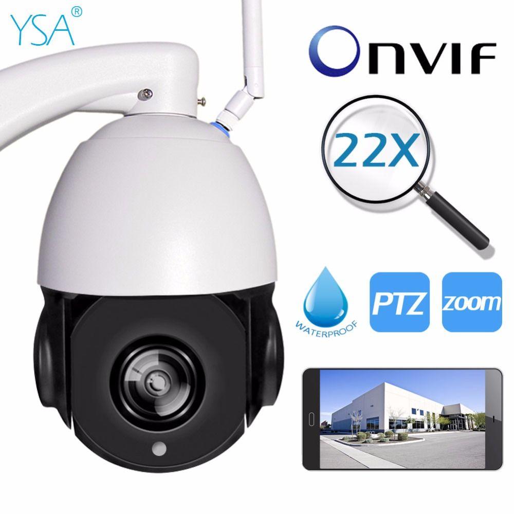 1080P 960P Onvif Wireless PTZ IP Camera WI-FI Outdoor 5X Optical Zoom CCTV Security Video IR Night Vision 150M IP66 Waterproof