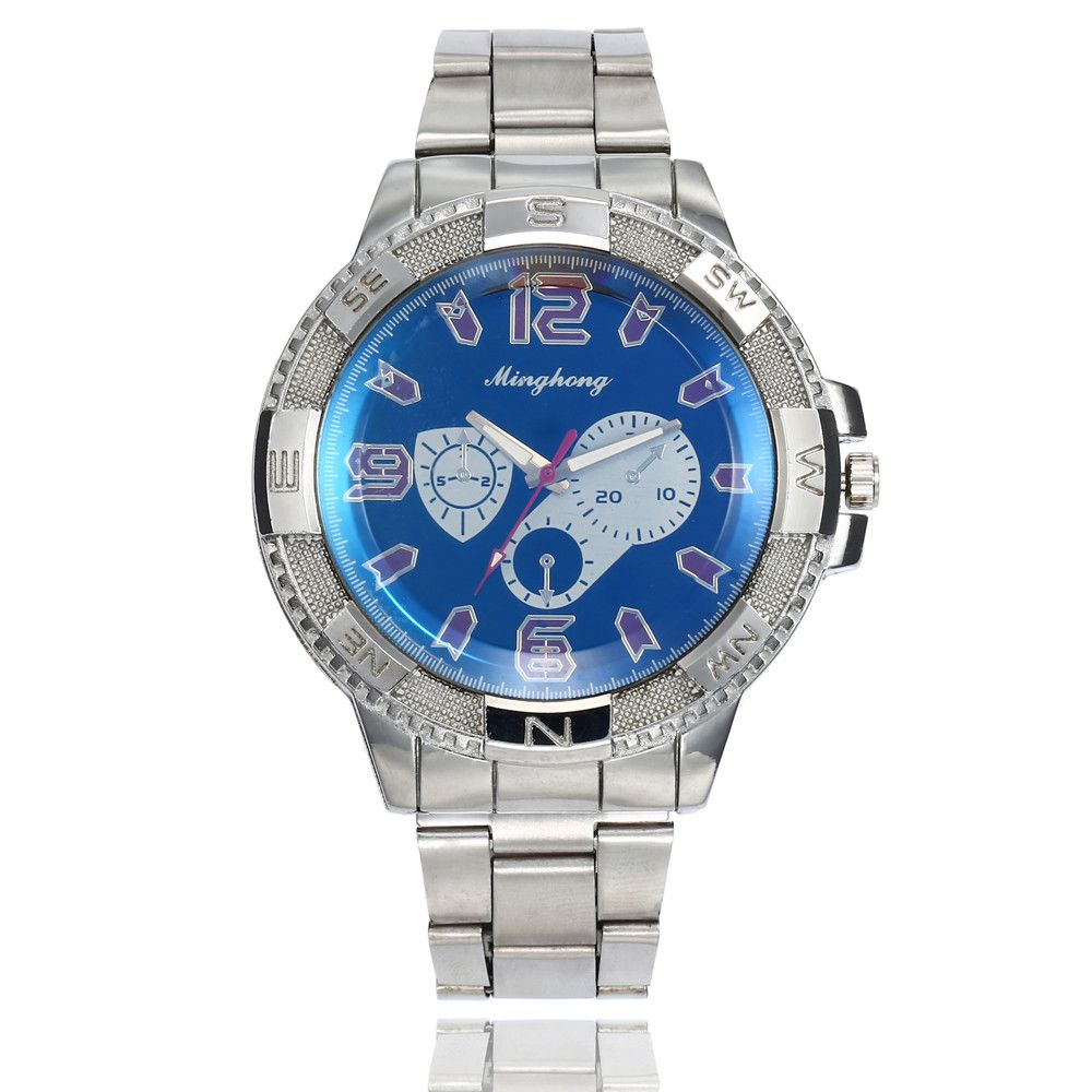New Luxury Watch Fashion Stainless Steel Watch For Men's Quartz Analog Wrist Watch Male Clocks relogio masculino erkek kol saati