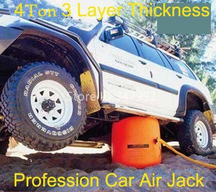 Livraison gratuite nouveauté 4 tonnes d'échappement Air Jack Auto jack pour berline et SUV (certificat CE)