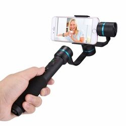 PULUZ G1 3-Axis Handheld Phone Gimbal Steadicam Stabilizer Clamp Mount with Tripod Holder for GoPro & 4.7 - 5.5 inch Smartphones