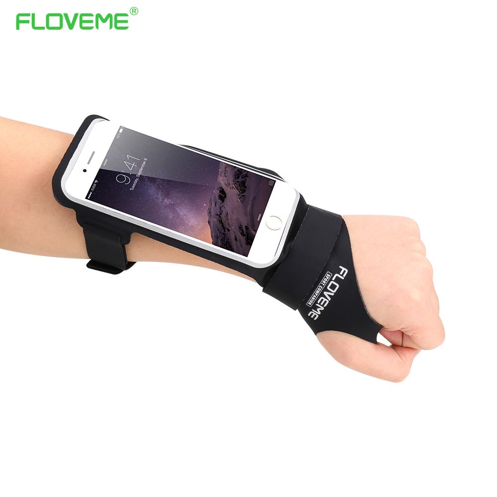FLOVEME Sport Gym Armband Waterproof Phone Case For Xiaomi Redmi 4x note 4 4a mi5 mi6 mi7 Cover Running Hand Bag Arm band Case
