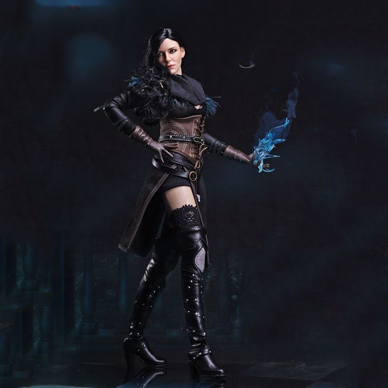 1/6 FS011 The Witcher 3 Wild Hunt Yennefer Sorceress female Full Set Action Figure for Collections Gifts Toys