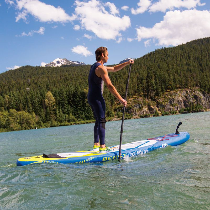 NEW surfboard 320*81*15cm AQUA MARINA BEAST inflatable SUP stand up paddle board surf kayak inflatable boat leg leash A01013