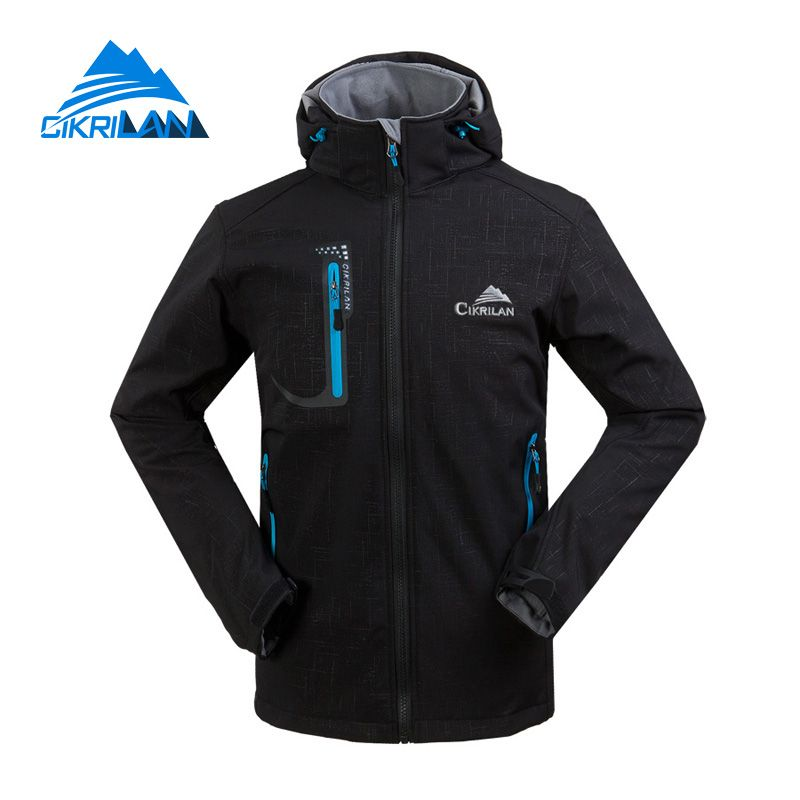 New Mens Water Resistant Windbreaker Hiking Camping Coat Outdoor Sport Softshell Jacket Men Trekking Cycling Jaqueta Masculina