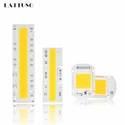 LATTUSO Chip de COB LEVOU Lâmpada 110 v 220 v de Alta Potência 20 10 w w w w 70 50 30 w 100 w Nenhum Driver de Entrada IC Inteligente Lâmpada LED Spotlight Luz de Inundação