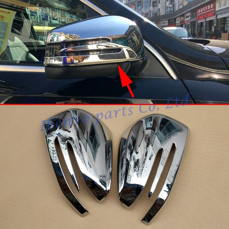 Rear View Rearview Side Mirror Car Styling Cover For Mercedes W166 C292 X166 GLE Wagon Coupe GL M-Class Chrome Accessories Trims