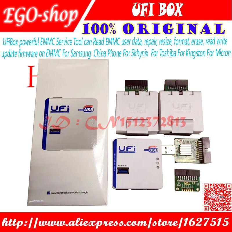 gsmjustoncct 2018 new original UFI Box power /Ufi ful EMMC Service Tool