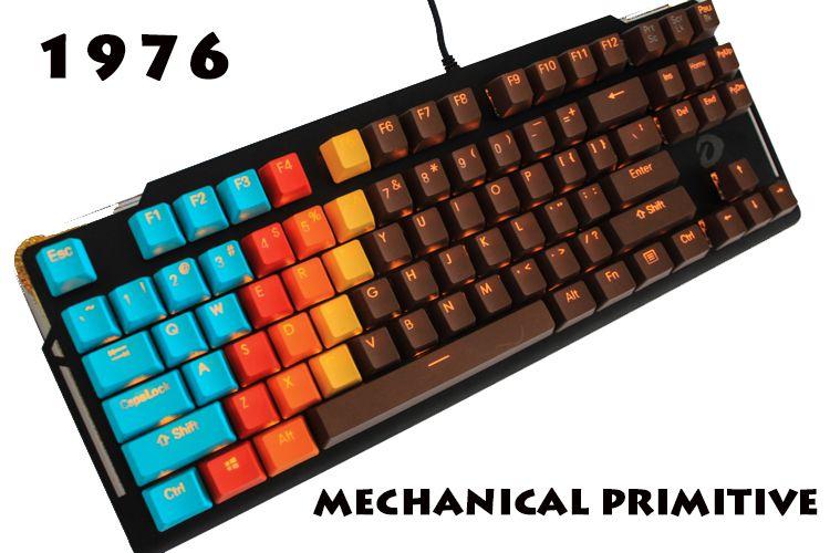 MP 1976 chocolat couleur Keycap 108 touches PBT Double tir Keycaps profil OEM pour Cherry MX commutateurs clavier mécanique Keycaps