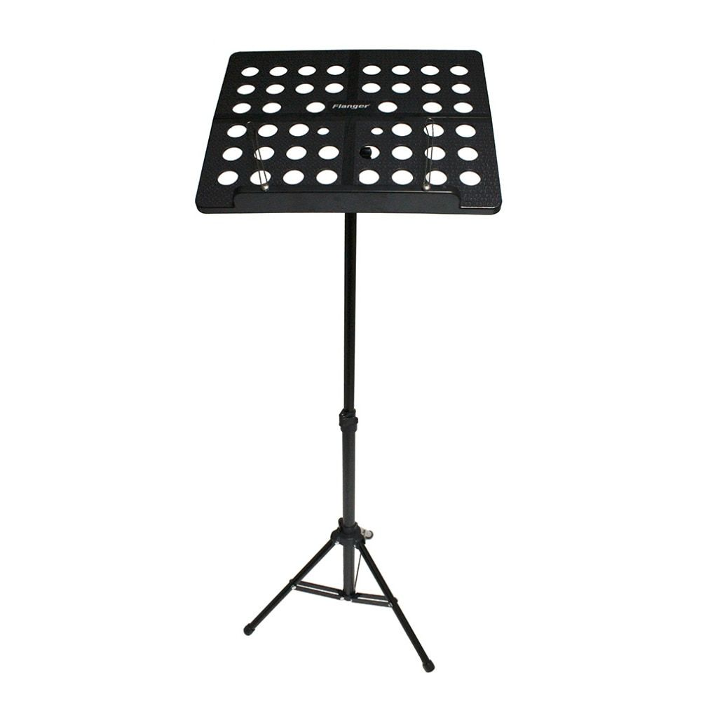Flanger Colourful Sheet Folding Music Stand Aluminum AlloyTripod Stand Holder With Soft Case with Carrying Bag Free Shipping