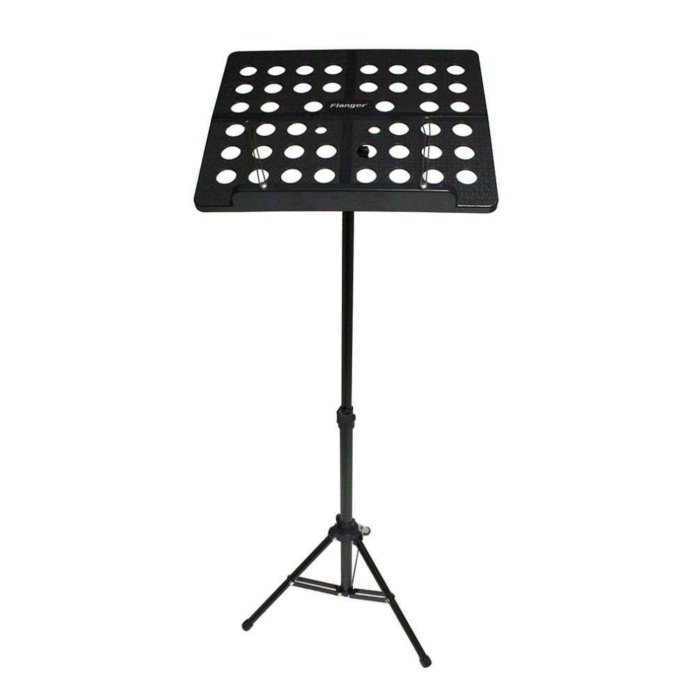 Flanger Colourful Sheet Folding Music Stand Aluminum AlloyTripod Stand Holder With <font><b>Soft</b></font> Case with Carrying Bag Free Shipping