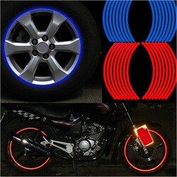 New! 16 Pcs Strips Wheel Stickers And Decals 14
