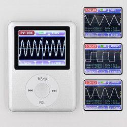 DSO168 De Poche mini poche portable ultra-petit numérique oscilloscope 20 M bande passante 100 M taux d'échantillonnage