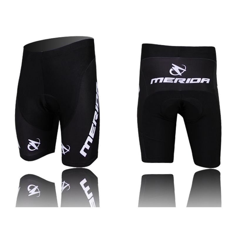 2018 Merida men cycling shorts with 3d gel pad bike shorts <font><b>Bicicleta</b></font> Shorts ciclismo quick dry bicycle shorts New Arrival S-5XL