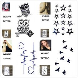 10.5x6cm Sex Products Design Fashion Temporary Tattoo Stickers Temporary Body Art Waterproof Tattoo Pattern Wholesales