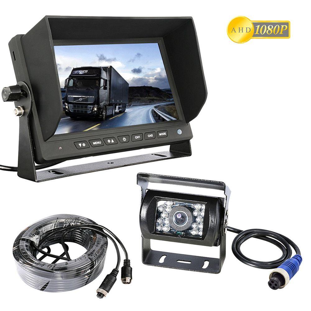 Accfly AHD 1080 p SONY CCD-auto-backup Rück cam reverse rückansicht kamera für Lkw bus Anhänger RV mit HD monitor