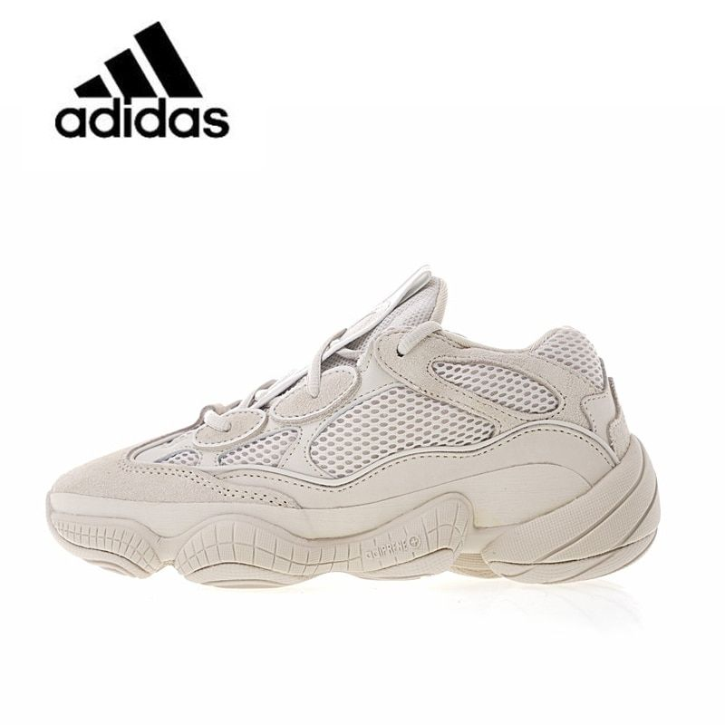 New Arrival Authentic Classic Adidas Yeezy Desert Rat 500 Blush Unisex Breathable Running Shoes Sports Sneakers Sport Outdoor