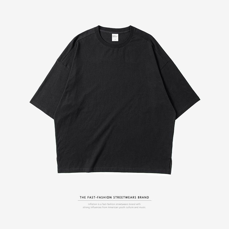 2140P 54 2019 new Arrive  Contton Men T-shirts Men's  Solid fashion