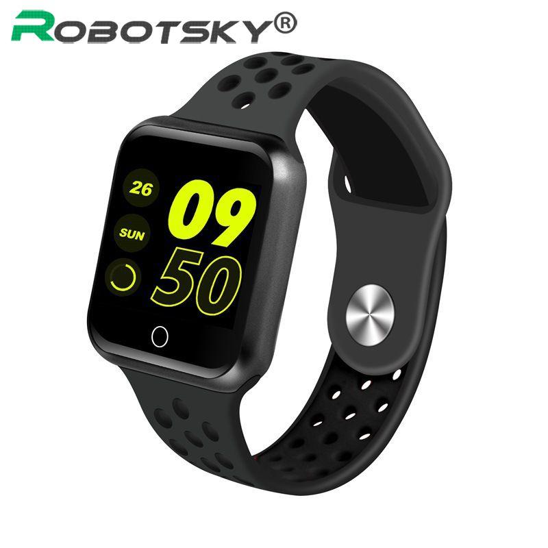 Montre intelligente Robotsky S226 IP67 étanche moniteur de fréquence cardiaque pression artérielle femmes hommes Smartwatch Standly 15 jours pour Android ios