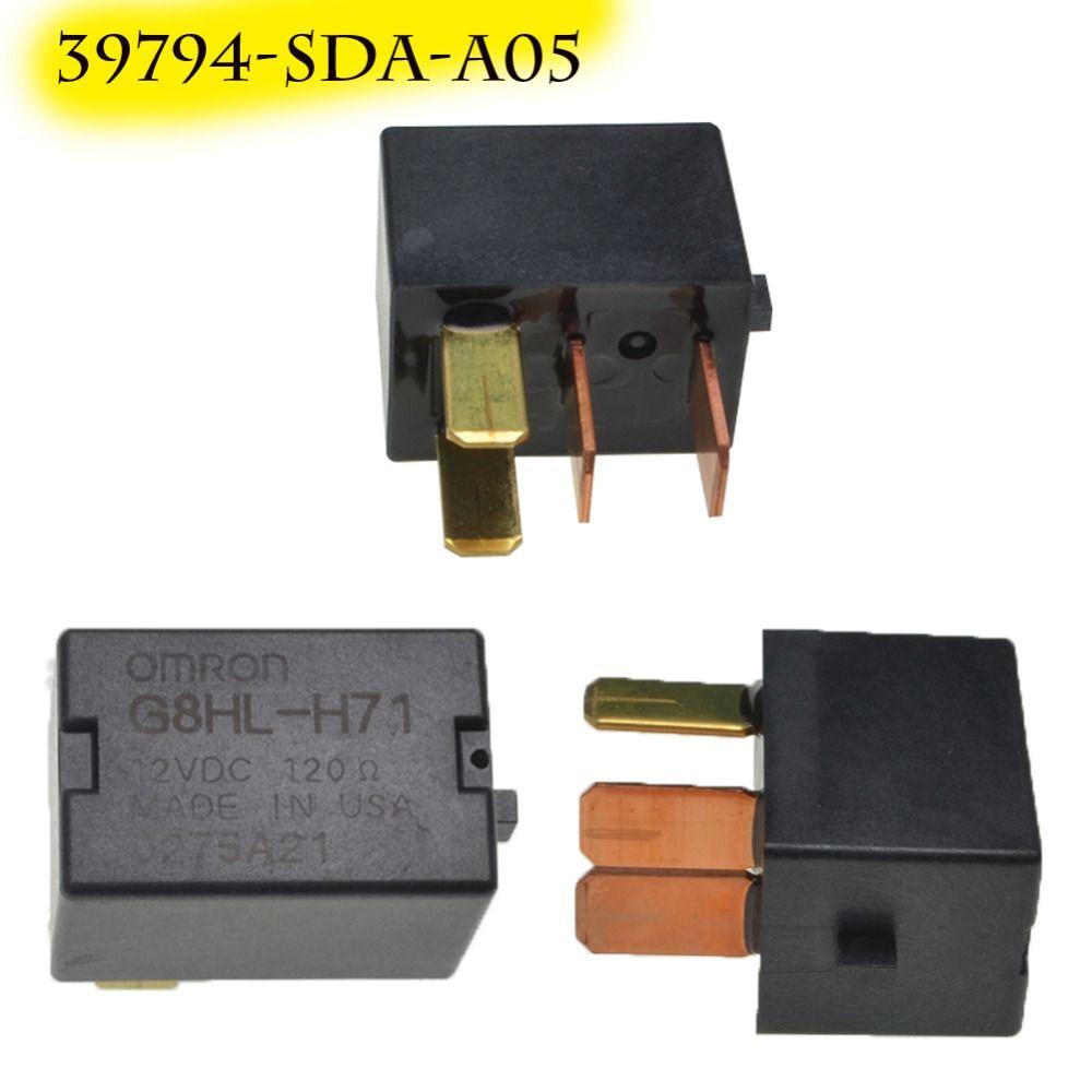 Para Acura TL Para Accord Civic Omron G8HL-H71 relé de potencia Asamblea 12 V DC compresor relé fusible relé 39794-SDA-A03