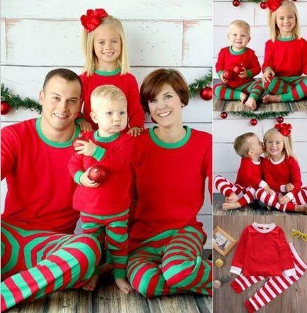 Famille Correspondant De Noël Pyjamas Vêtements Pour La Famille Mère Fille Père Fils Vêtements Famille Vêtements Définit Famille Style Ensemble AI09
