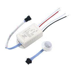 Kebidumei AP más nuevo 220 V infrarrojos IR Módulo Sensor cuerpo inteligente interruptor de luz con Sensor de movimiento