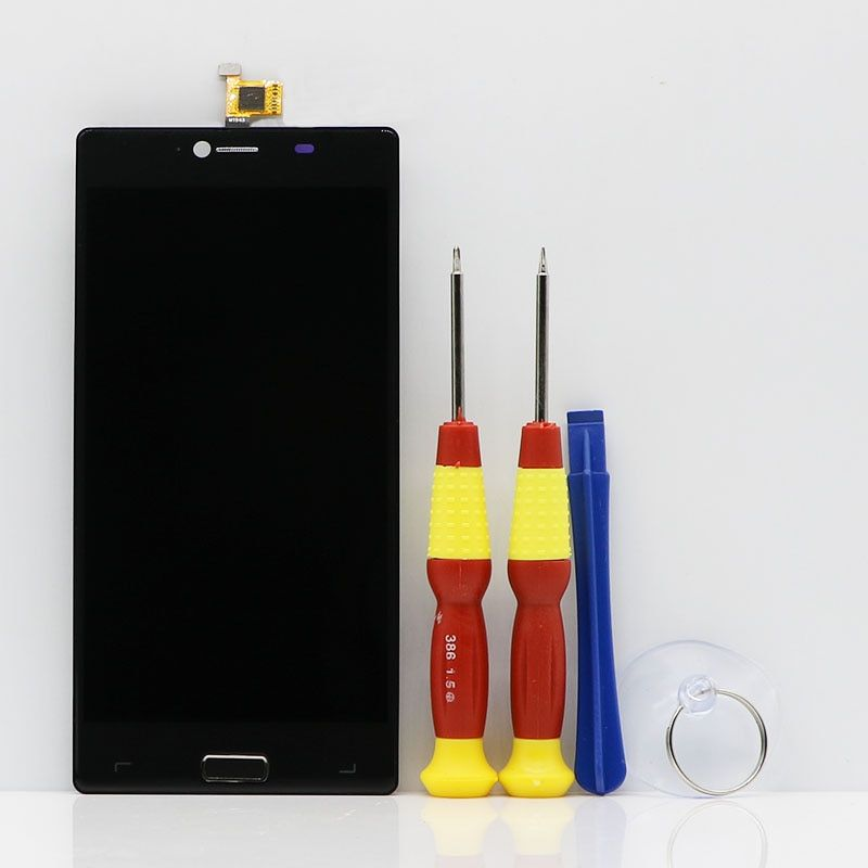 New original Touch Screen LCD Display LCD Screen For Elephone M2 Replacement Parts + Disassemble Tool