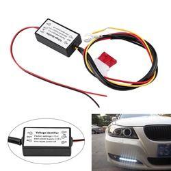 Siang Hari Berjalan Lampu Controller DRL Controller Mobil Lampu LED Siang Hari Berjalan Lampu Siang Hari Relay Controller Kontrol Dimmer On/Off