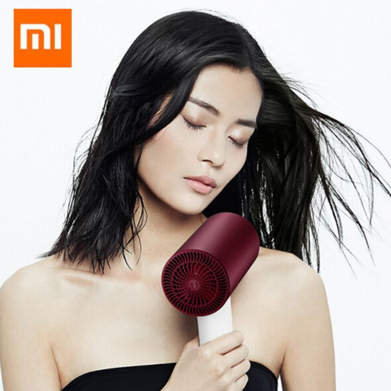 Original Xiaomi Soocare Soocas H3S Anion Hair Dryer Aluminum Alloy Body 1800W Air Outlet Anti-Hot Innovative Diversion Design