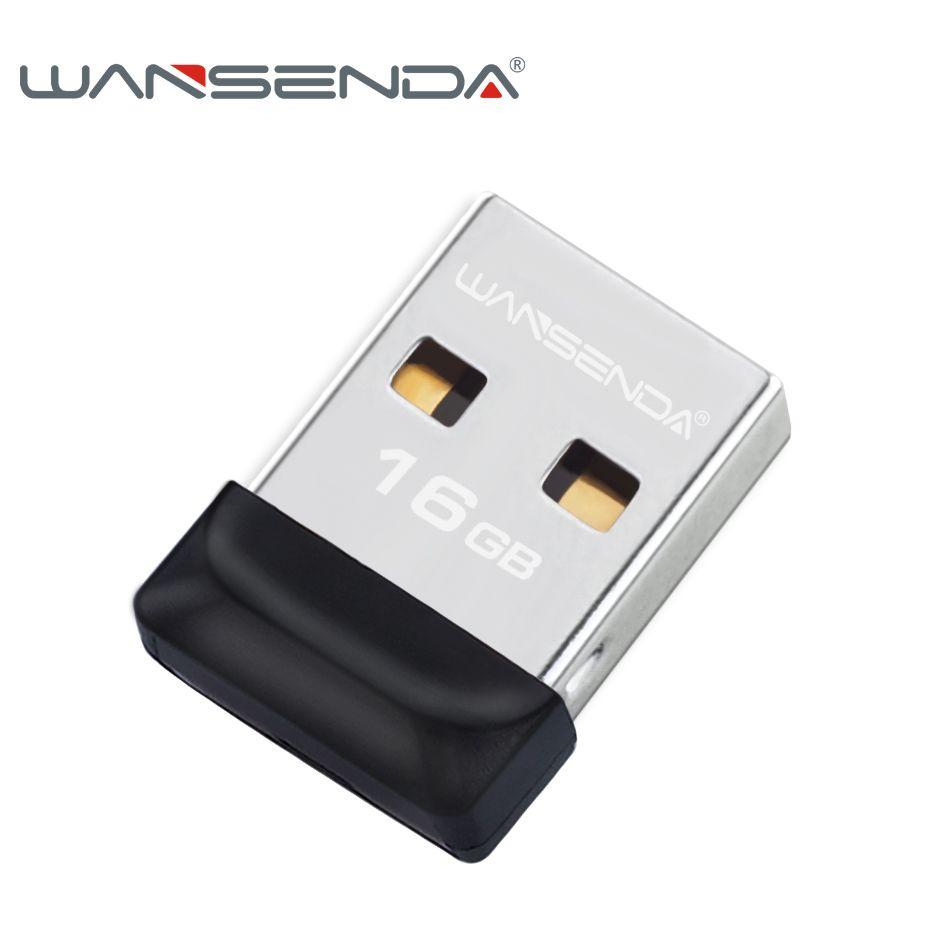100% full capacity Super tiny Waterproof USB Flash Drive 32GB 16GB 8GB 4GB Wansenda pen drive flash pendrive memory USB stick