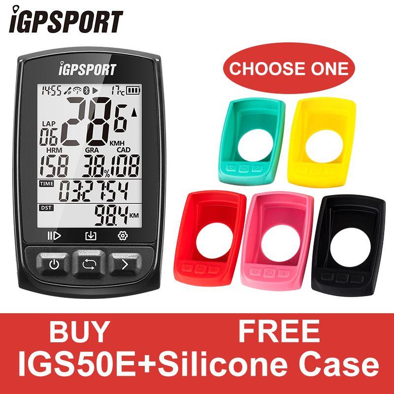 IGPSPORT GPS Bike Bicycle Sport Computer Waterproof IPX7 ANT+ Wireless Speedometer Bicycle Digital Stopwatch Cycling Speedometer