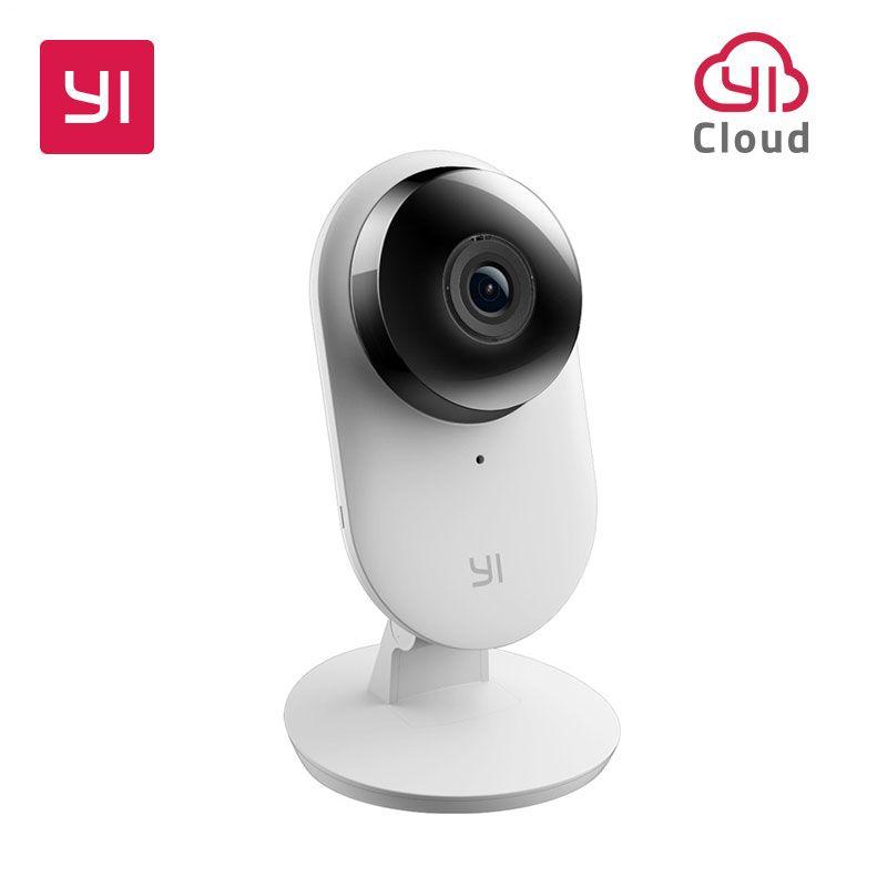 Yi Maison Caméra 2 1080 p FHD Smart Home Security Camera Mini Webcam Sans Fil cctv cam Nuit Vision NOUS et l'UE Édition Android IOS CMOS