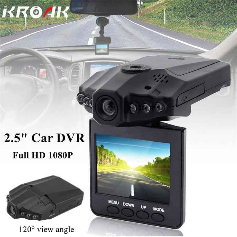 Mini 2.5 Inch VGA Car DVR Vehicle Camera Video Recorder Dash Cam Registrator Registrar