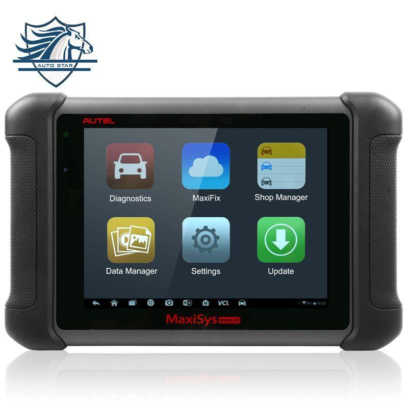 Neue Ankunft 100% Ursprüngliche Drahtlose AUTEL MaxiSYS MS906BT Bluetooth Selbstdiagnosescanner MS906 BT Ecu-kodierung Update Online