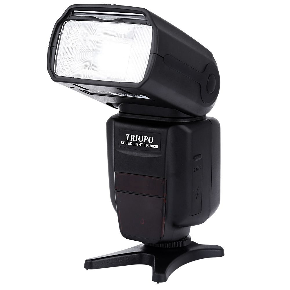 TRIOPO TR - 982IIN 1/8000 HSS Multi LCD Wireless Master Slave Flash Speedlite With LCD Screen for Nikon