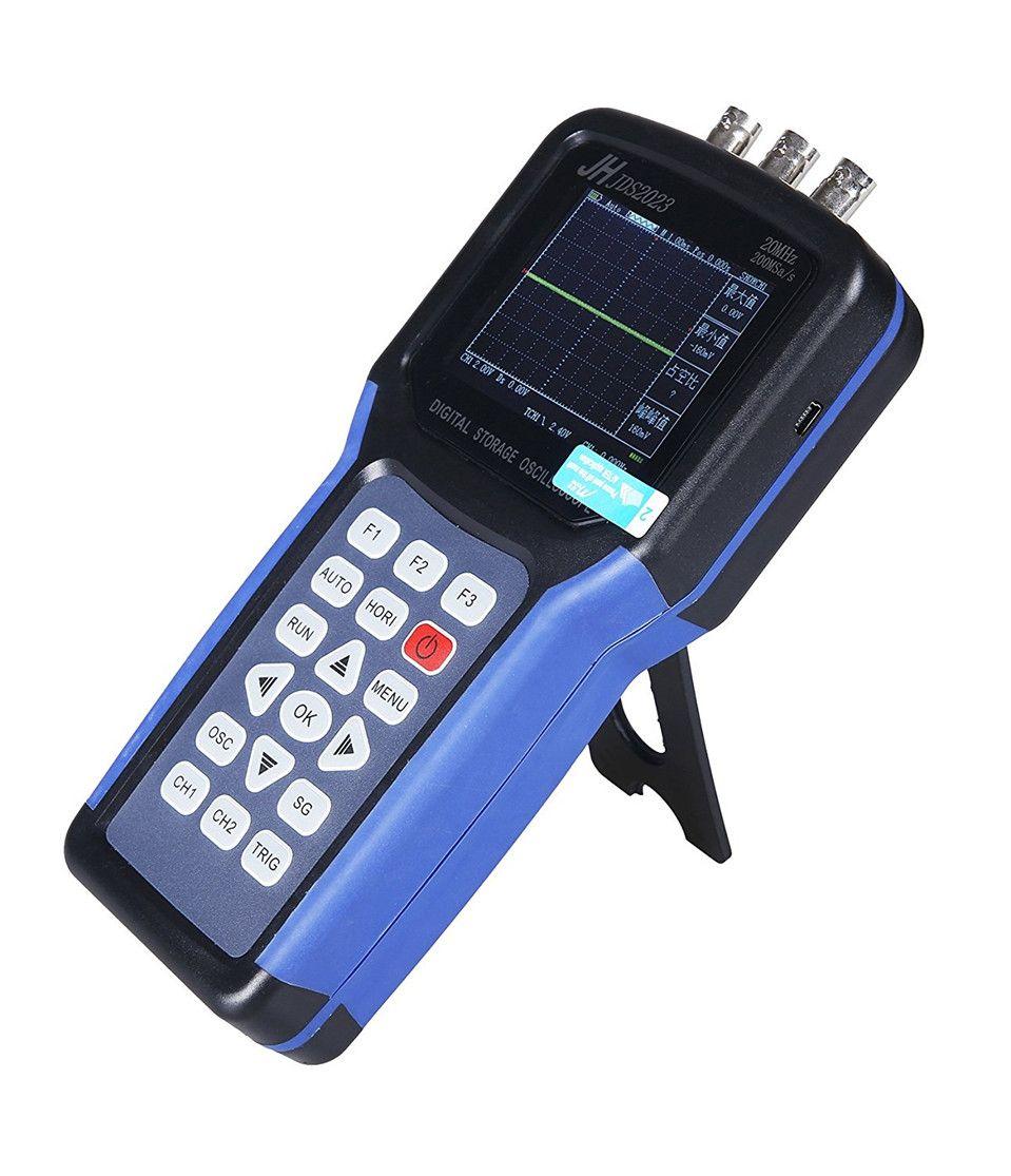 2017 High Quality Original Jinhan JDS2023 Handheld Oscilloscope 1 Channels 20MHz oscilloscope Free Shipping