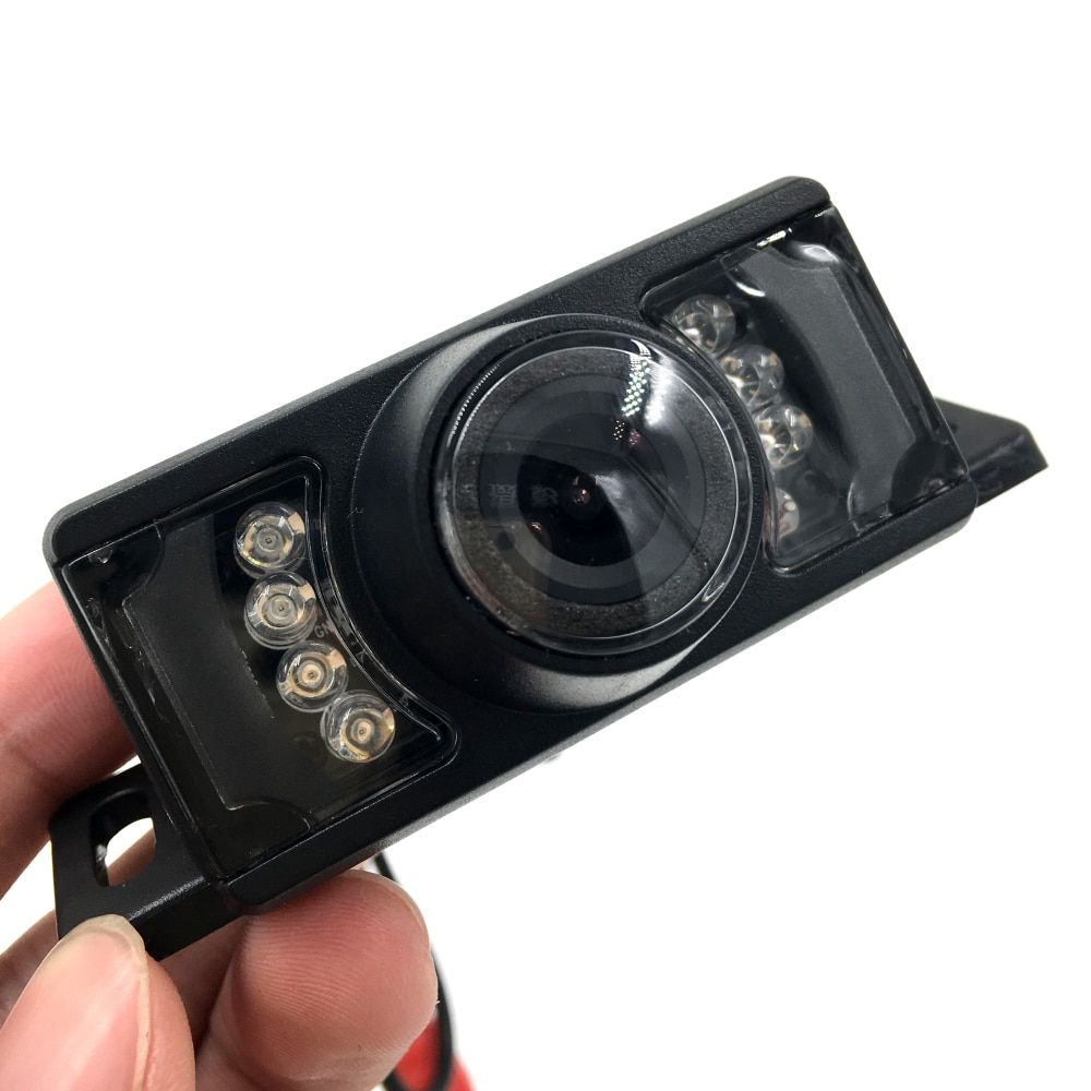Wide Viewing Angle Waterproof Reversing Backup Camera 7 IR LED Night Car Rear View Camera