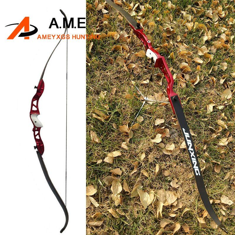 F155 Tournament Recurve Bow Archery Draw Weight 24-36lbs Bow Arrow Camping Slingshot arco e flecha Arossbow 66 inch Hunting