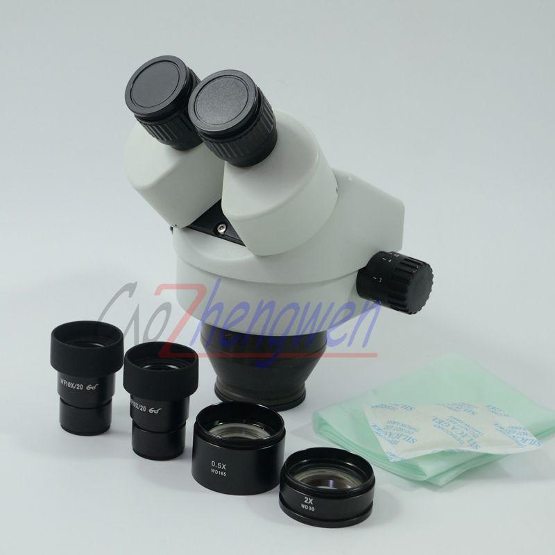FYSCOPE 3.5X-90X Binocular Stereo Zoom Microscope Body WF10X/20 SZM2.0X SZM0.5X